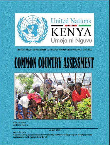 Common Country Assessment 2018-2022