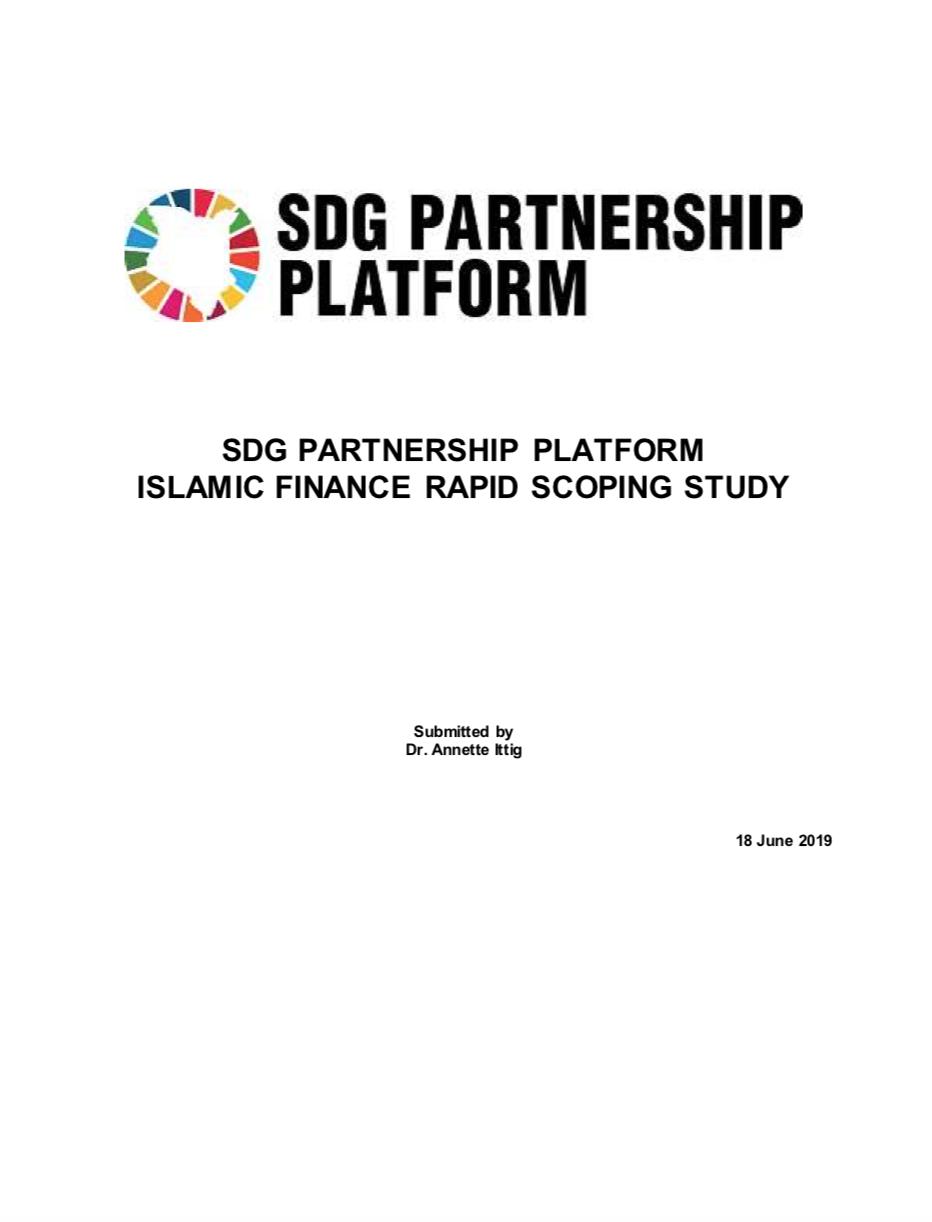 SDG Partnership Platform Islamic Finance Rapid Scoping Study - Publication