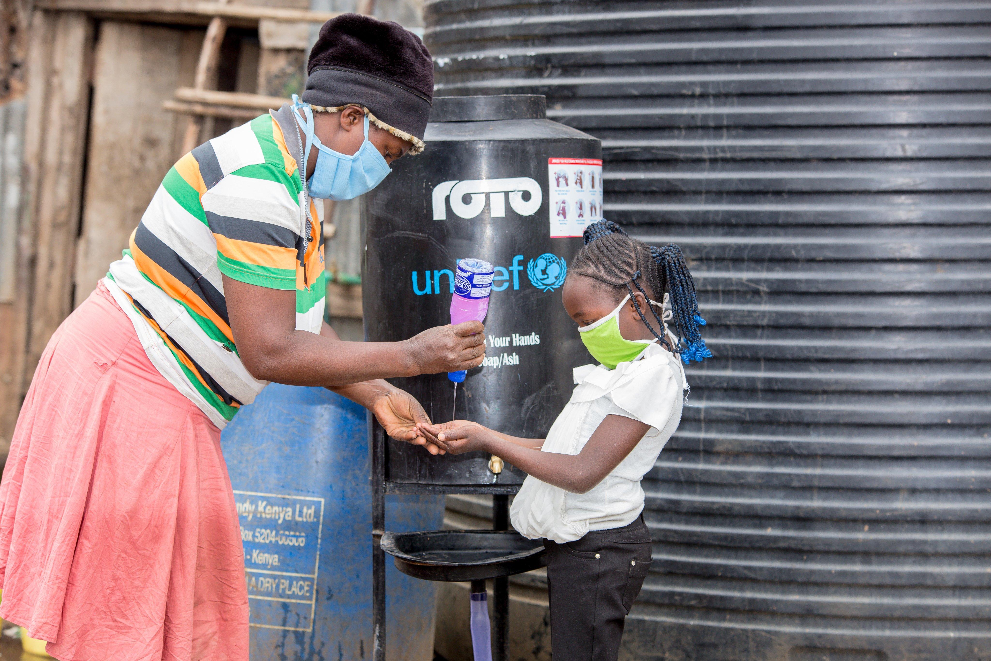 WASH program in informal settlements