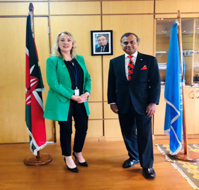 The Irish Government announces support to the UN Resident Coordinator's Office in Kenya towards COVID19 response in the Country