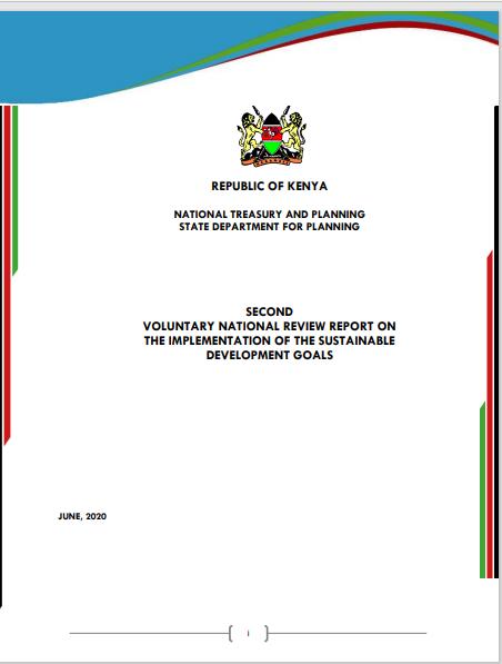 Popular Version of the 2020 Kenya VNR