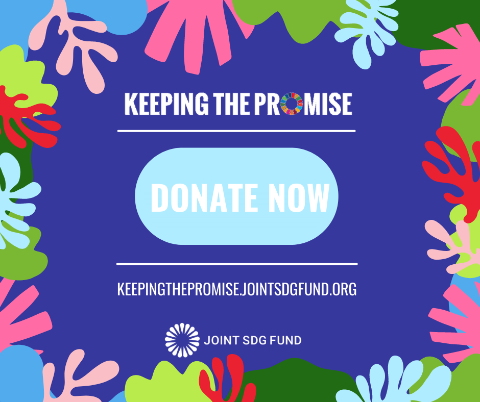Donate to the SDGs - Keeping the Promise