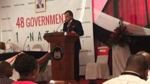 Speech by Siddharth Chatterjee UN Resident Coordinator to Kenya