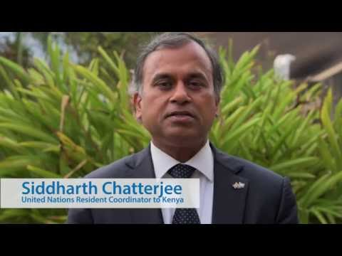International Day of Peace Message by UN Resident Coordinator to Kenya, Siddharth Chatterjee