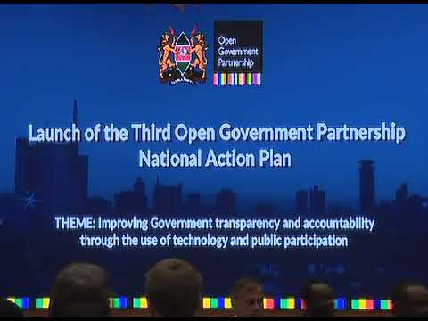 Video About Open Government in Kenya