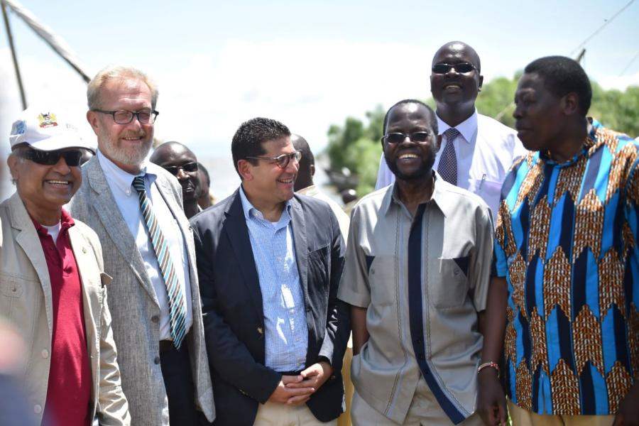 Sustainable Management and Utilization of Water Hyacinth in Lake Victoria Basin partnership