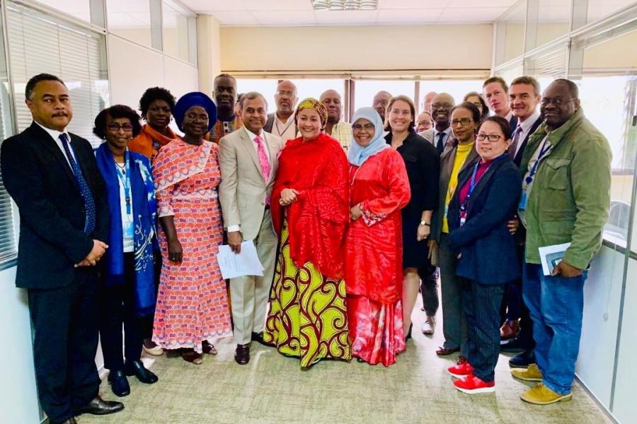 DSG meeting with UNCT Kenya 2019